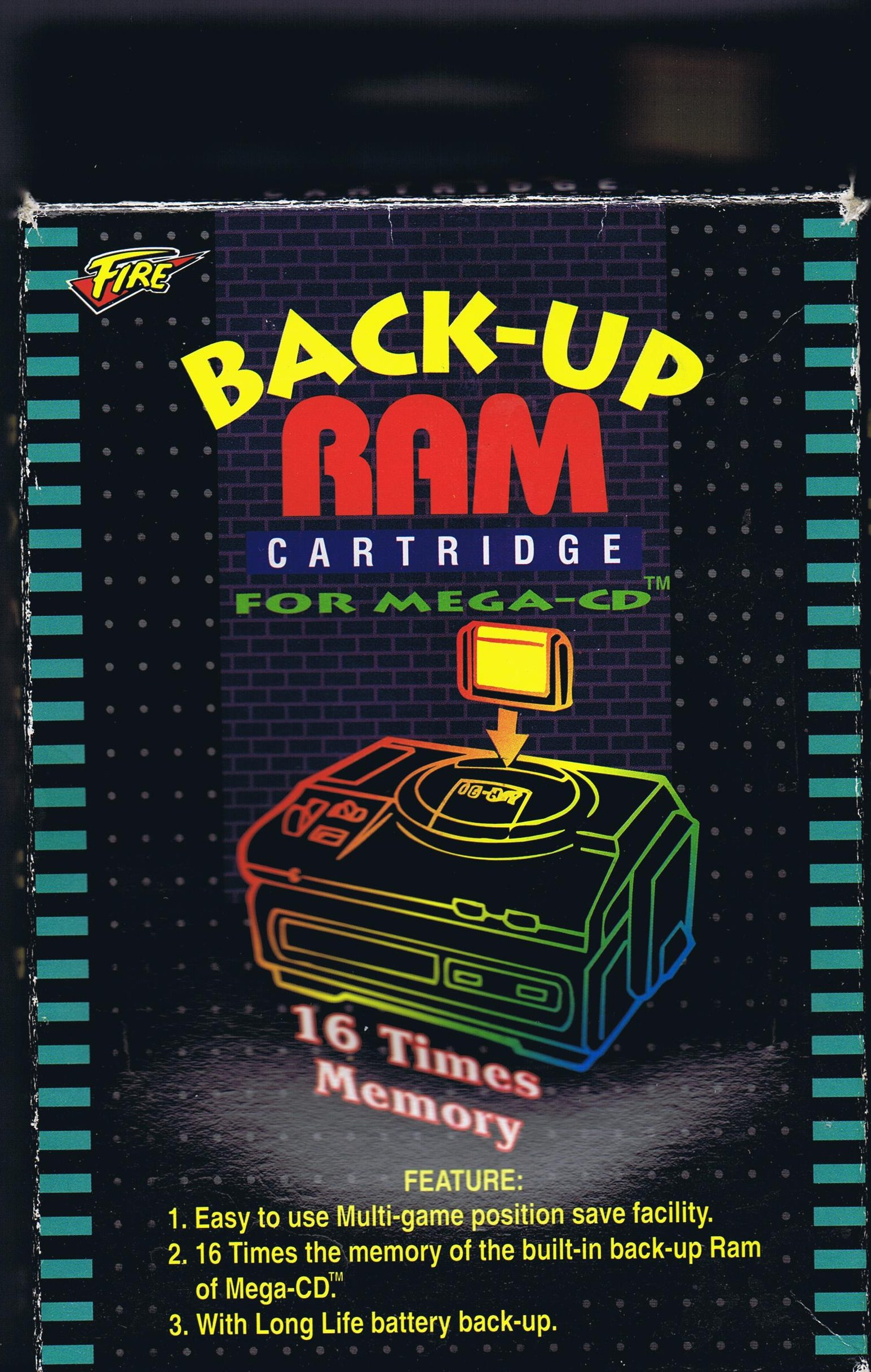 Backup RAM Cart